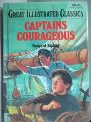 【書寶二手書T3/原文小說_MOZ】Captains Courageous_Rudyard Kipling