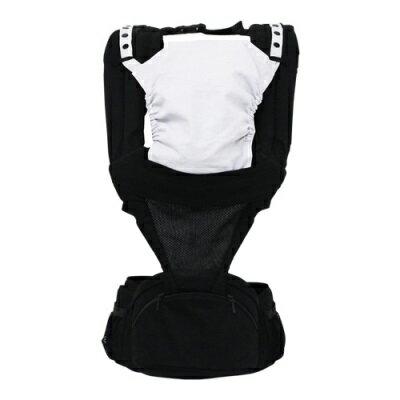 日本 LUCKY POLBAN 腰凳背帶-黑