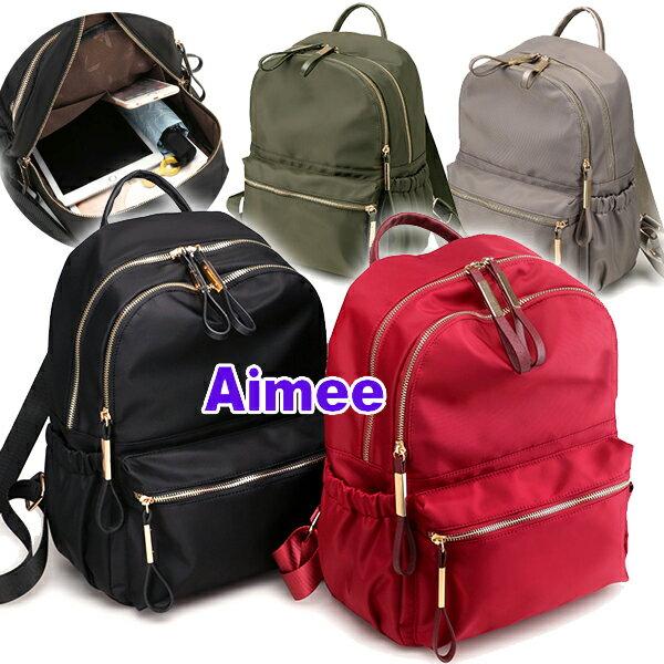 【預購】【Aimee】韓式34公分渡假休閒包‧金箔後背包《加大版》側背包女生包包A4包包托特包媽媽包肩背斜背包手提包紅色黑色正韓