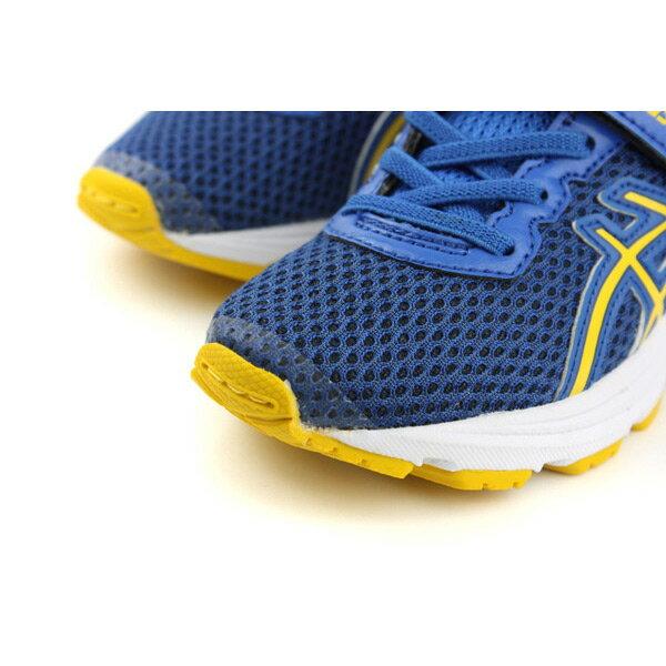 亞瑟士 ASICS GT-1000 6 PS  慢跑鞋 運動鞋 深藍色 中童 C741N-4504 no286 4