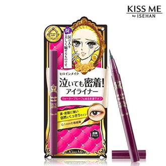日本 KISS ME 奇士美 花漾美姬 華爾茲淚眼防水眼線液筆 0.4ml 眼線液筆【B061747】
