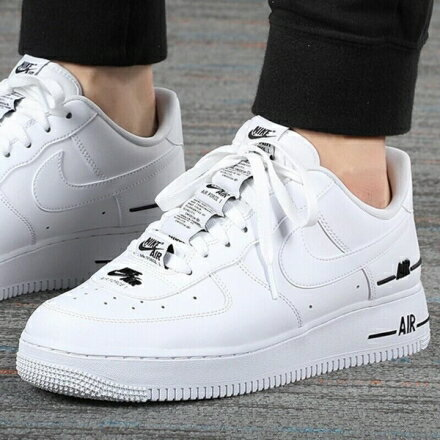 KUMO SHOES-現貨NIKE AIR FORCE 1 '07 LV8 3 DOUBLE AIR 白 CJ1379-100