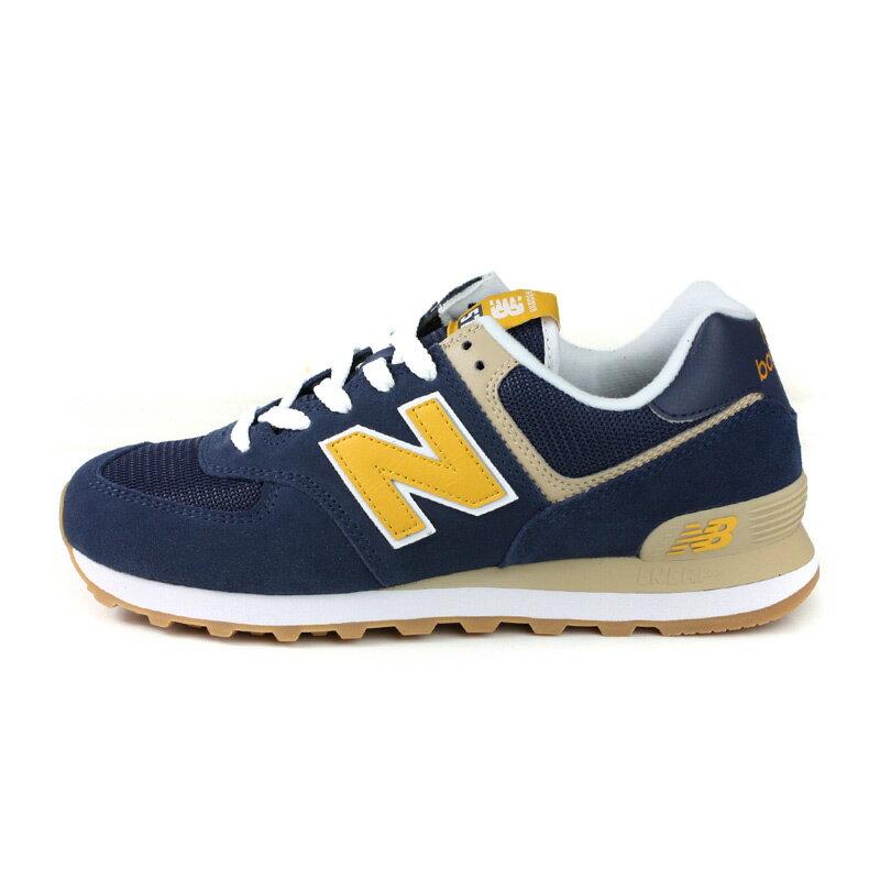 NEW BALANCE 574系列 運動鞋 復古鞋 深藍 / 黃 男鞋 ML574SPF-D no709 7