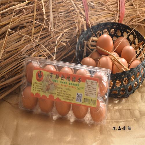 有助動福放牧雞蛋 產地直送 ^(50顆  5盒^)~禾嘉食葉~ 健康香醇濃