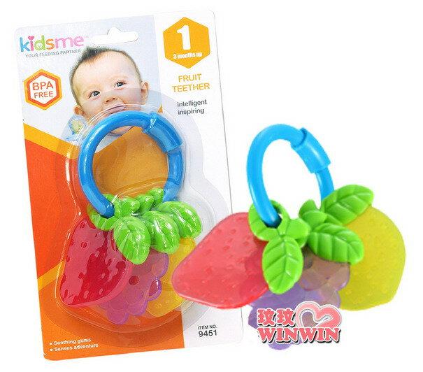 Kidsme 牙齒咬環 水果 No.9451 ^~ 迷你水果 ,亮麗的色彩 ,讓寶寶愛不釋
