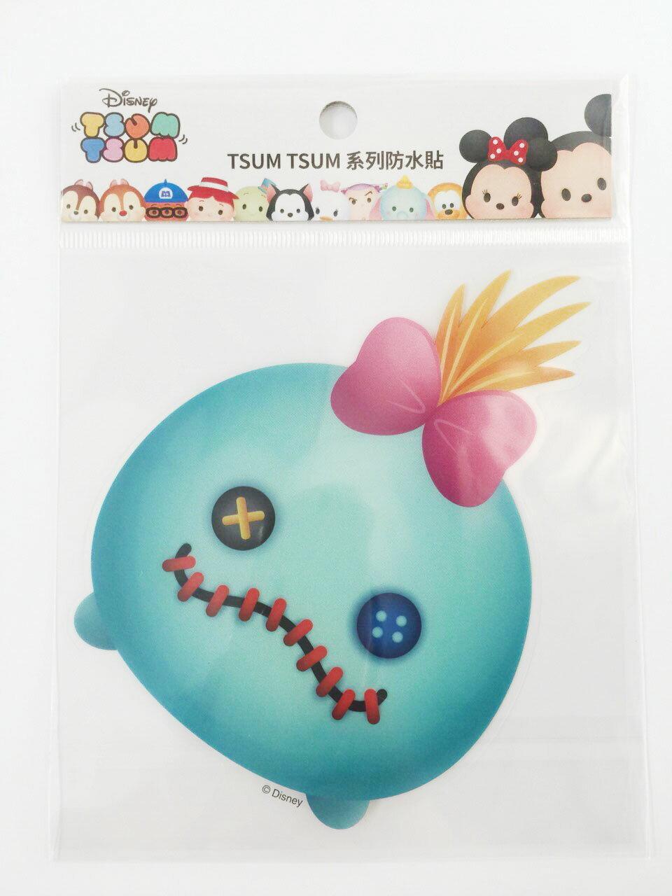 【真愛日本】16011200037  TSUM防水貼紙-醜ㄚ頭   史迪奇 星際寶貝 迪士尼 裝飾貼紙 PVC 貼紙
