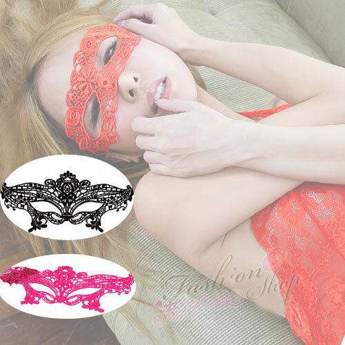 裸空性感蕾絲眼罩 角色扮演服cosplay服裝夜店派對服性感配件~流行E線K059