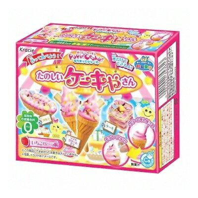 有樂町進口食品 kracie 蛋糕屋先生知育?子~香草 草莓~diy~冰淇淋知育果子 26g~4901551353613