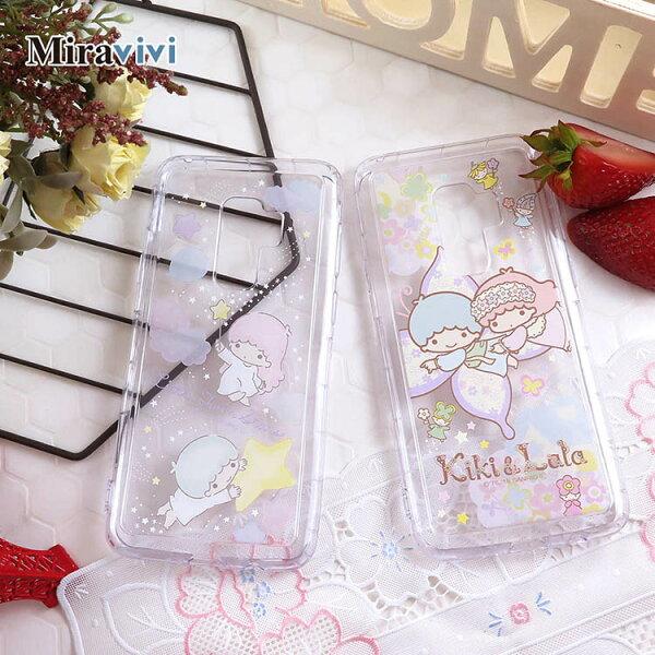 Sanrio三麗鷗雙子星彩繪空壓保護套SamsungGalaxyS9+S9