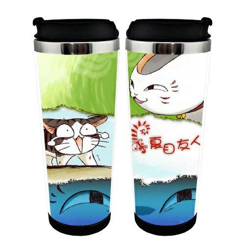 【憶童趣】動漫 夏目友人帳 貓咪老師 創意水杯