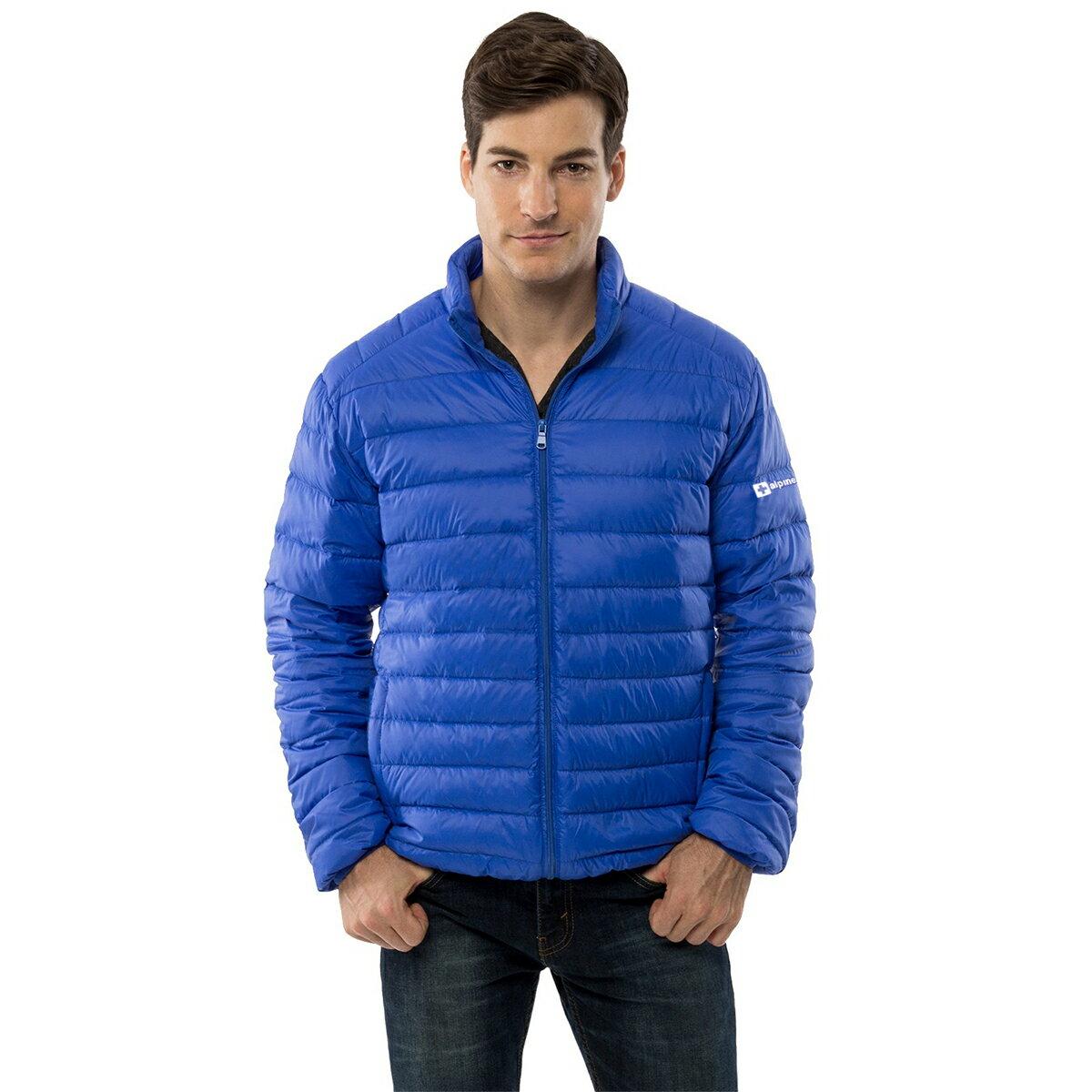 a8eea6560d6 Alpine Swiss Niko Men's Down Jacket Puffer Bubble Coat Packable Light Warm  Parka 4