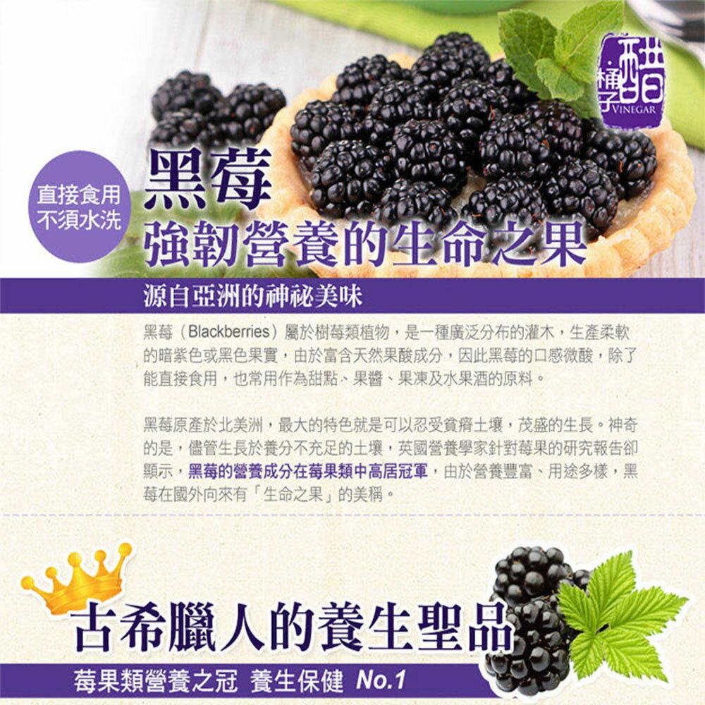 【幸美生技】免運 4公斤花青雙黑莓果特惠組(黑醋栗2公斤+黑莓2公斤) 1