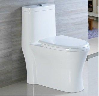 《大台北宅急修》ROMAX 羅曼史 R8083 旋風式單體兩段式省水馬桶 奈米智潔釉面 極致美型 精品質感 平實價格