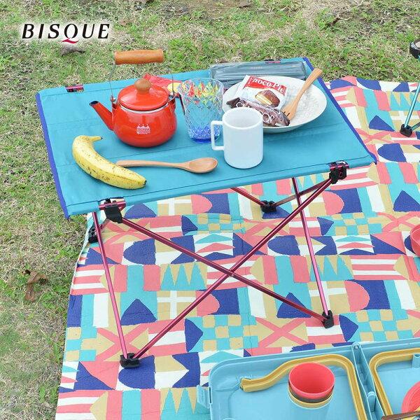 【日本BISQUE】輕量摺疊野餐露營桌
