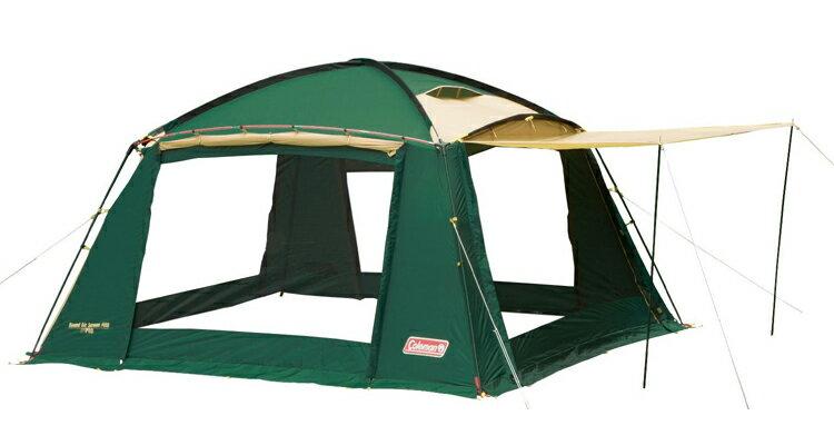 《台南悠活運動家》Coleman 圓頂透氣網屋400 CM-7185 可與帳篷連接