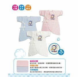 PUKU藍色企鵝-紗布蝴蝶裝60cm(白色)199元(現貨售完為止)