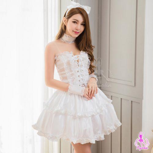 情趣用品角色扮演可愛蘿莉風七件式女僕角色扮演服