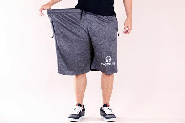 【CS衣舖 】加大尺碼 吸濕排汗 極度快乾 舒適 吸汗 機能運動短褲 伸縮腰圍 2807 5
