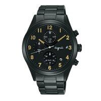 agnès b.包包推薦到AGNES.B/浪漫時尚經典腕錶/黑/VD57-KT20K就在方采鐘錶推薦agnès b.包包