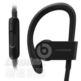 【曜德】Beats Powerbeats 3 Wireless 黑 無線藍芽 運動型耳掛式耳機 防汗 ★ 免運 ★