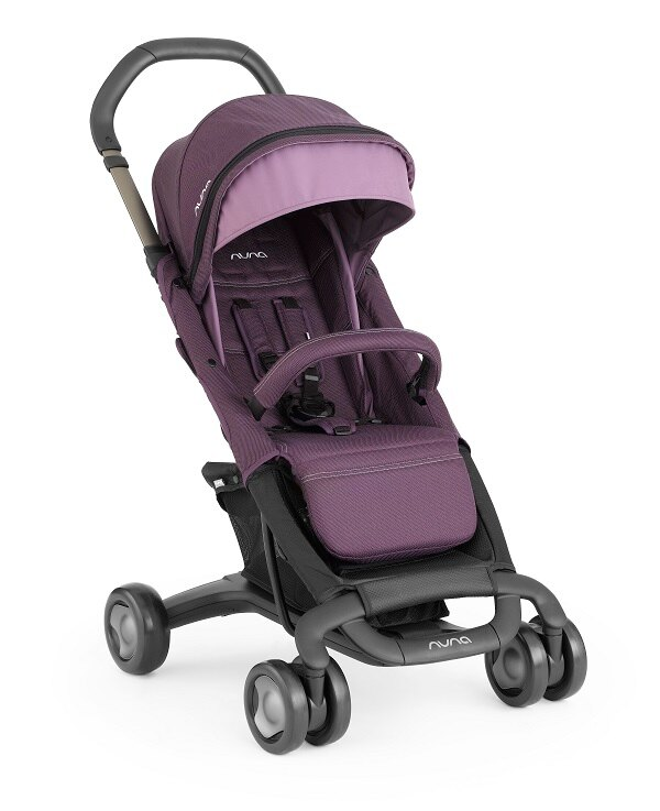 NUNA - Pepp Luxx時尚推車 (紫) 加贈原廠贈品! - 限時優惠好康折扣