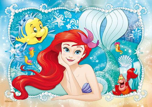 【P2 拼圖】Disney Princess 小美人魚(3)拼圖108片 HPD0108-055