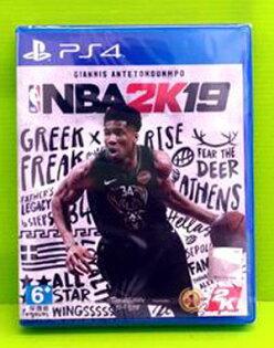 [現金價](實體版)PS4美國職業籃球NBA2K19亞版中文版一般版