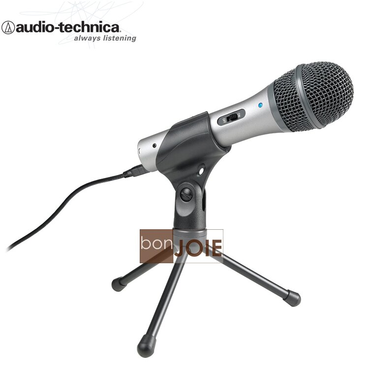::bonJOIE:: 美國進口 鐵三角 Audio-Technica ATR2100 USB 動圈式麥克風 (全新盒裝) ATR2100USB Microphone MIC