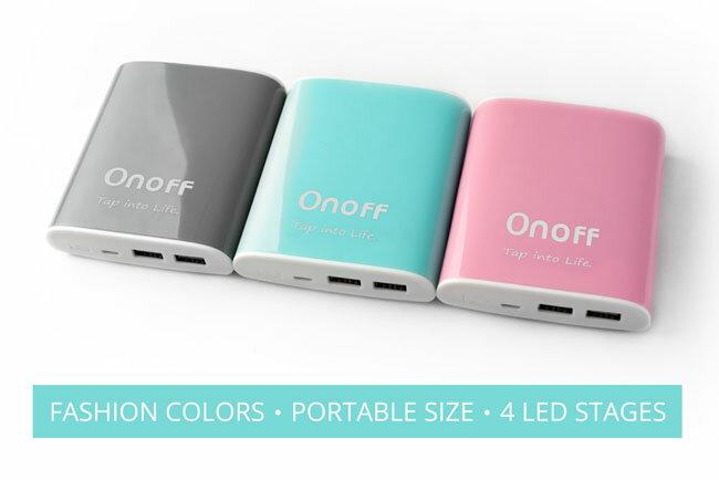 [富廉網] Onoff D1 10400mAh 行動電源