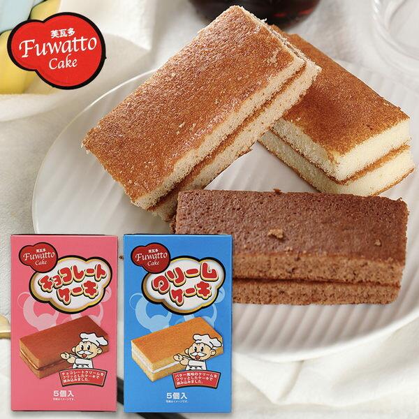 芙瓦多 馬來西亞  巧克力/奶油風味夾心蛋糕(5入)90g【庫奇小舖】