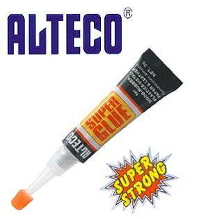 文五雙全x文具五金生活館:ALTECO強力瞬間膠(3g)內附通針.快乾.3秒膠.液狀瞬間膠【日本】