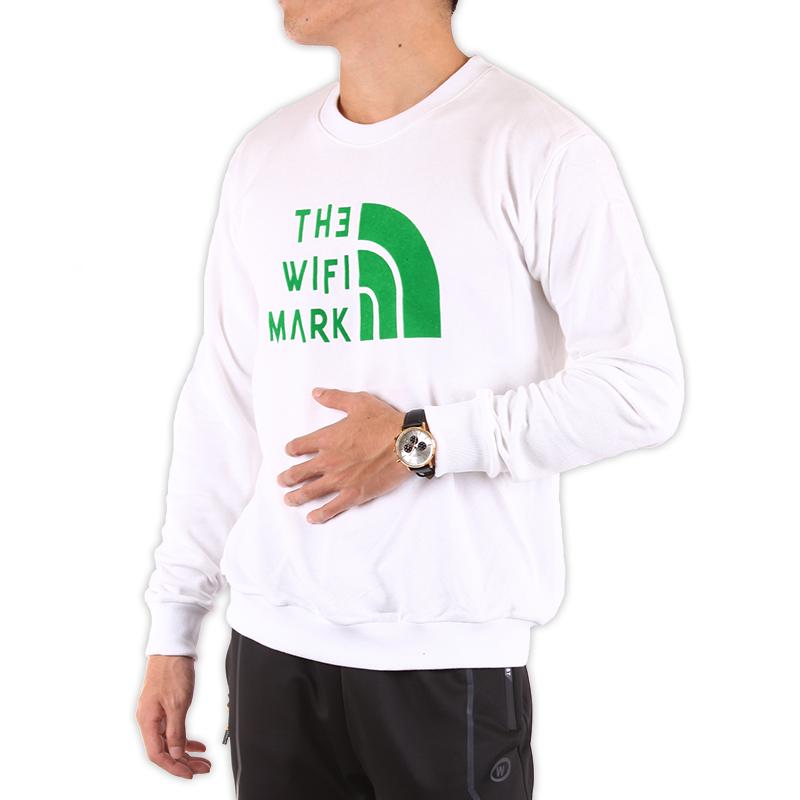 【台灣製造 不起毛球 情侶T】 高磅 純棉 小絨布 長袖T恤 大學T 衛衣 四色 #8804