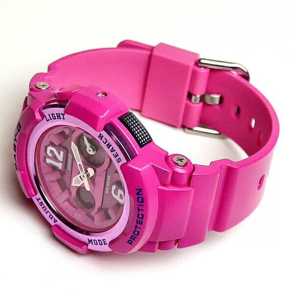 國外代購 CASIO Baby-G BGA-210-4B2DR 少女時代城市簽名限定版 女錶 手錶 腕表 情侶錶 粉紅