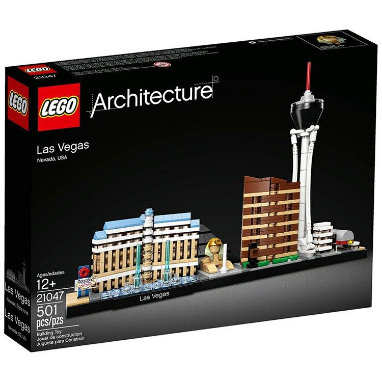 樂高LEGO 21047  ARCHITECTURE 世界建築系列 - 拉斯維加斯 - 限時優惠好康折扣