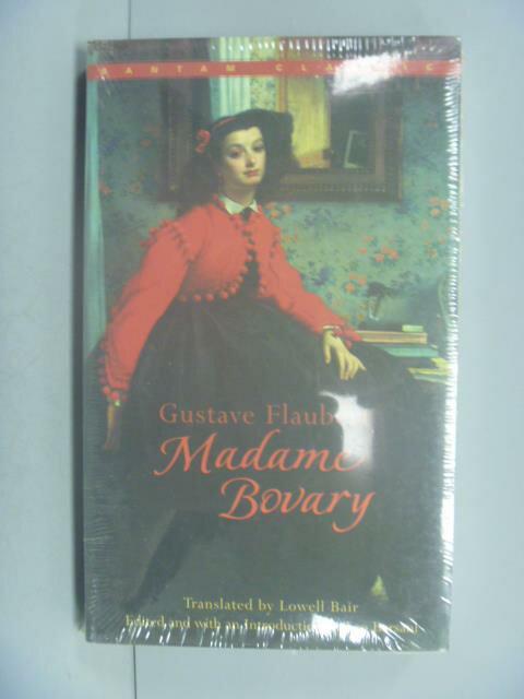 ~書寶 書T8/原文小說_IIR~Madame Bovary_Flaubert Gusta
