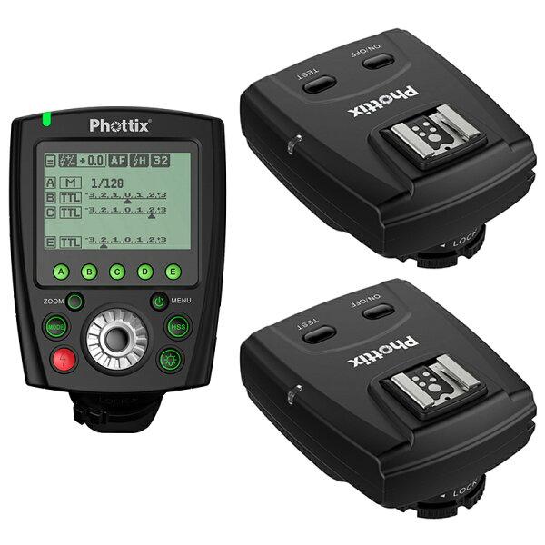 ◎相機專家◎送電池PhottixOdinIITTL1對2無線閃燈觸發器forCanon送eneloop低自放電電池群光公司貨