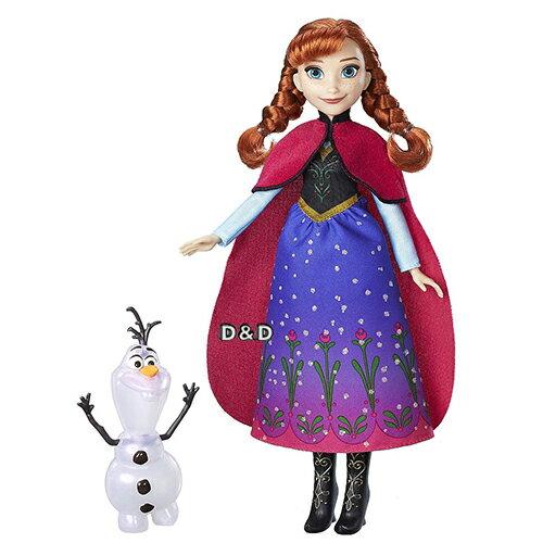 東喬精品百貨商城:《Disney迪士尼》冰雪奇緣安娜與雪寶