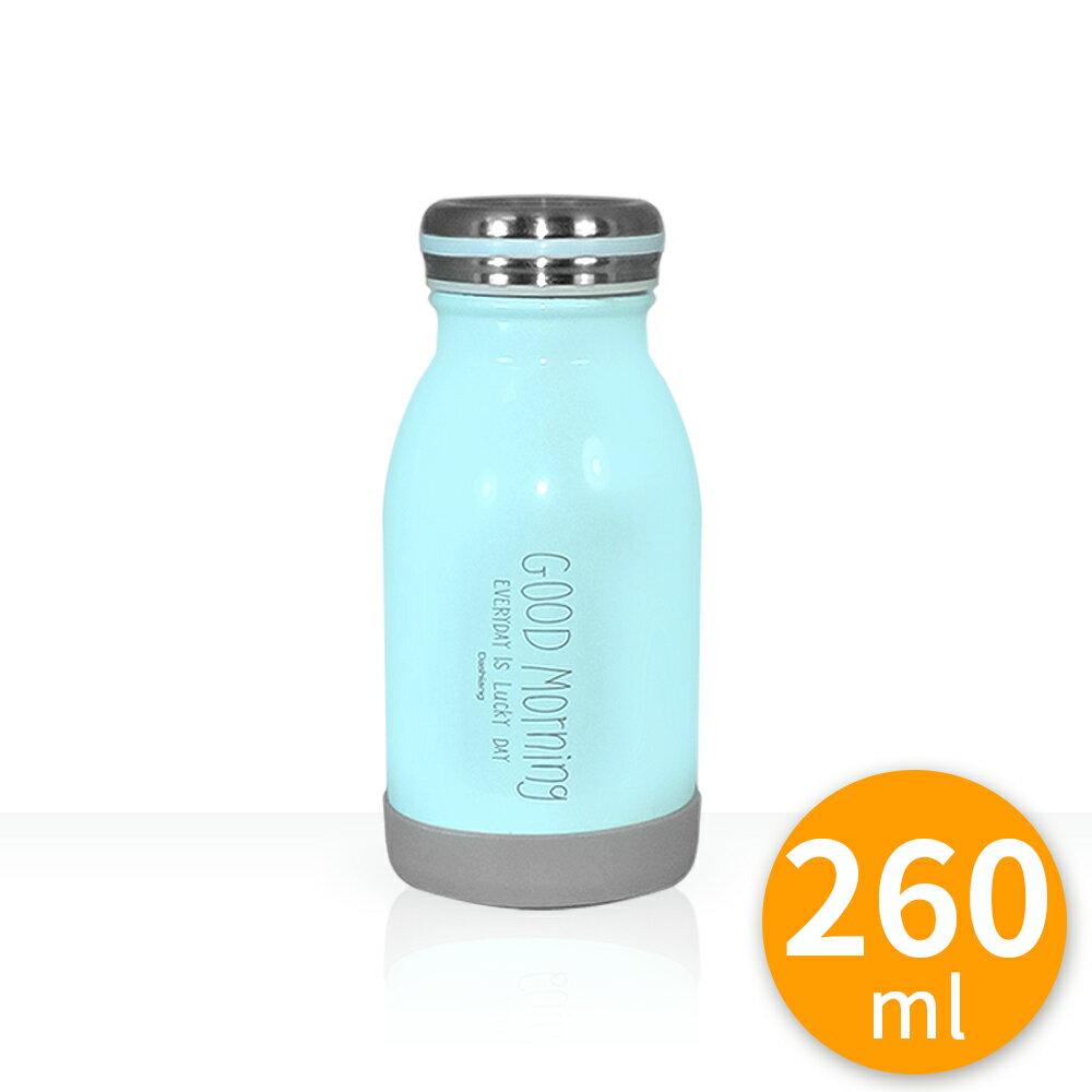 304 不鏽鋼 保溫瓶 牛奶瓶 14cm 260ml 超真空不鏽鋼牛奶保溫瓶-14cm高/260ml