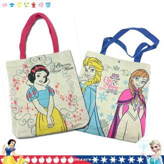 大田倉 日本進口正版 Disney 迪士尼 白雪公主 Frozen 冰雪奇緣 提袋 收納袋 手提袋 收納包