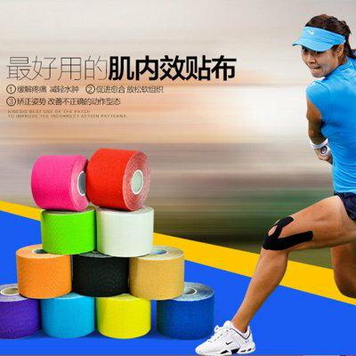 ☆.:*【JLStudio運動貓】$99 彈力運動貼布 運動肌貼 肌貼 肌肉貼 運動膠帶 運動防護 彩色貼布 肌內效貼