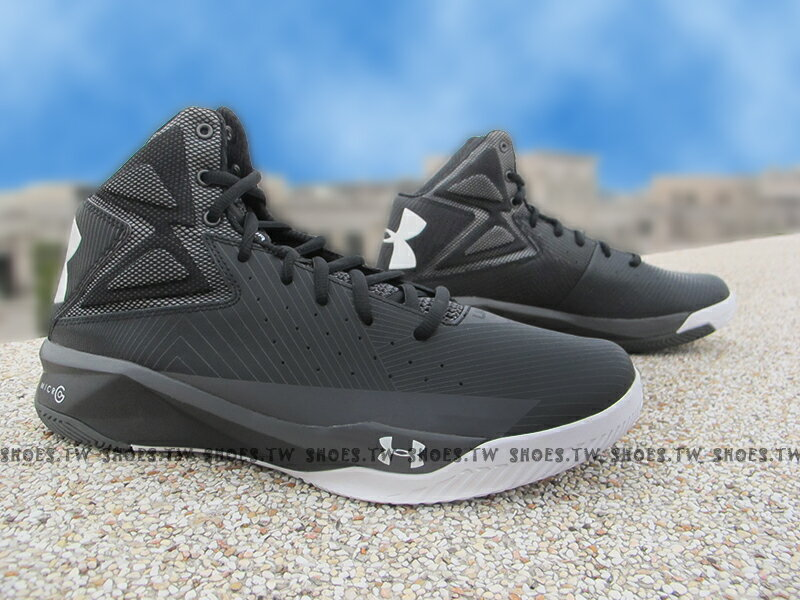 《出清6折》 [28.5CM] Shoestw【1264224-001】UNDER ARMOUR UA 籃球鞋 黑白 CURRY SC30