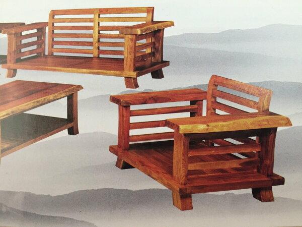 【石川家居】KL-20柚木LA型組椅台中以北搭配車趟免運費