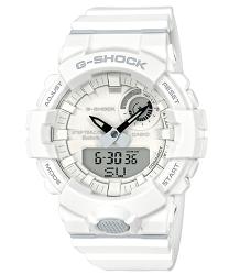 CASIO 卡西歐 G SHOCK APP健康管理藍芽傳輸雙顯計時錶 GBA-800-7A 54.1mm