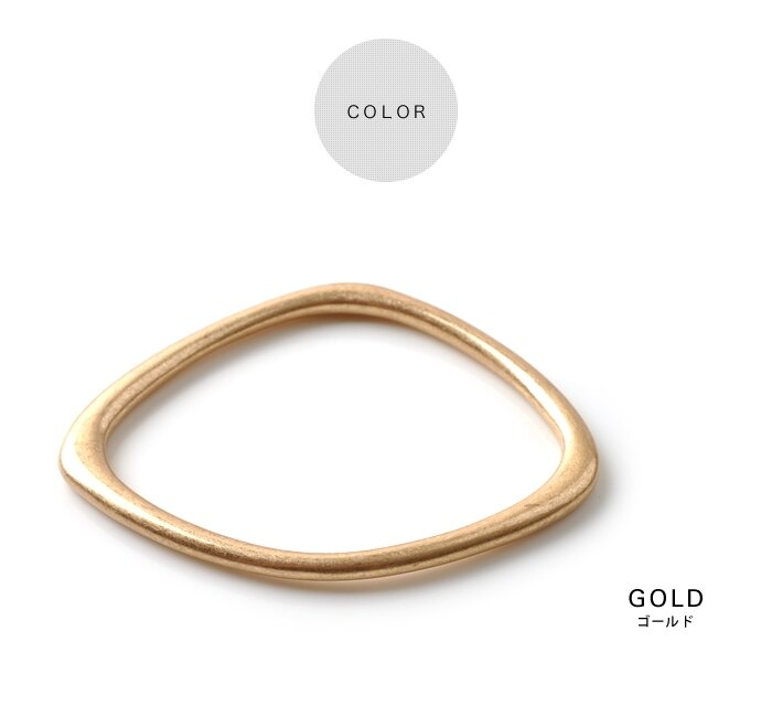 日本CREAM DOT  /  バングル ヴィンテージ メタル レディース ゴールド 金 シルバー 銀 シンプル 上品 ブランド アクセサリー プレゼント 大人 レディース 女性 大人 ジュエリー  /  qc0320  /  日本必買 日本樂天直送(1690) 2