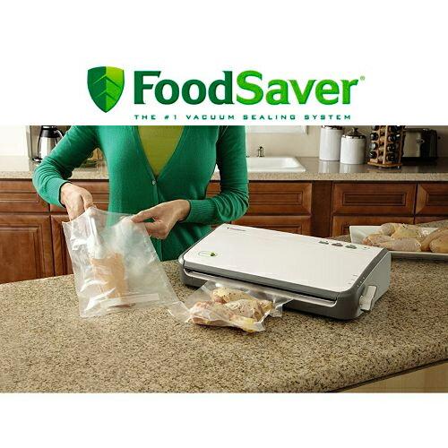 【買就送調味罐四件組】FOODSAVER FM2110P 家用真空包裝機 含夾鏈袋轉接頭組 0