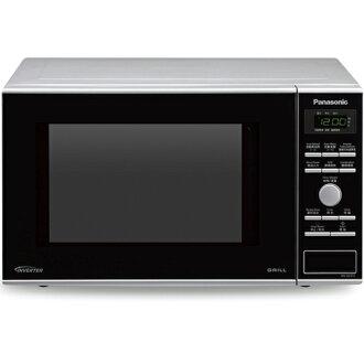 【買就送強化餐盤3入組】Panasonic 國際 NN-GD372 23L 變頻式微波爐光波 燒烤