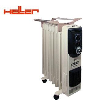 德國HELLER嘉儀8葉片定時電暖器KE-208TF買就送雙層不銹鋼保溫飯盒