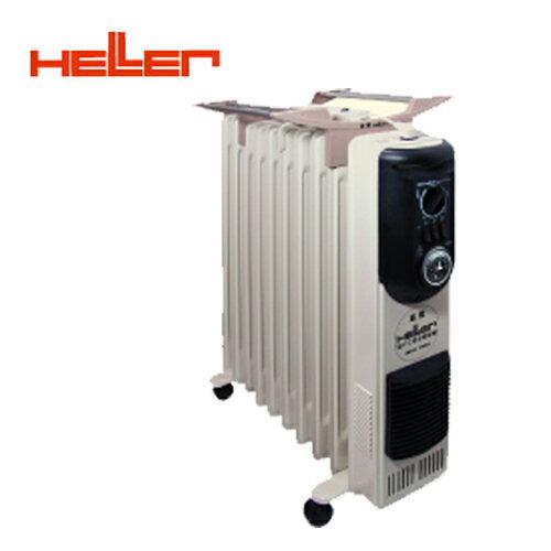 德國HELLER嘉儀10葉片定時電暖器KE-210TF買就送雙層不銹鋼保溫飯盒