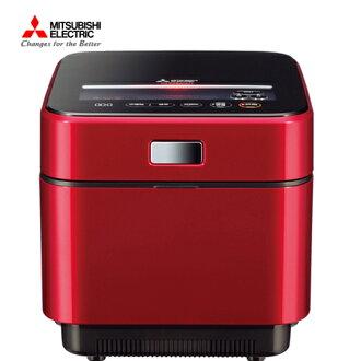 Mitsubishi 三菱 NJ-EXSA10JT-R 蒸氣回收IH電子鍋 日本製 6人份 (寶絢紅)