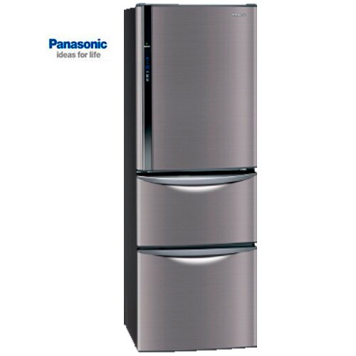 Panasonic 國際 NR-C387HV-K 變頻三門冰箱 送果汁機